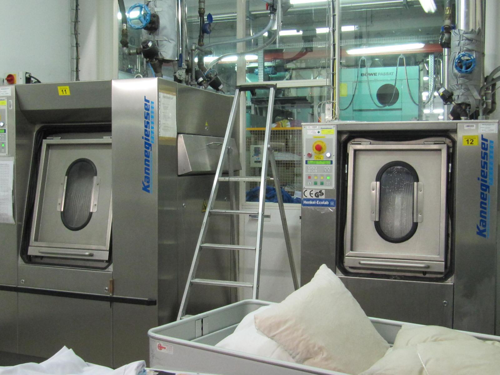 La blanchisserie de la marine une technologie la pointe brest bellevue - Vinaigre blanc lave linge dosage ...