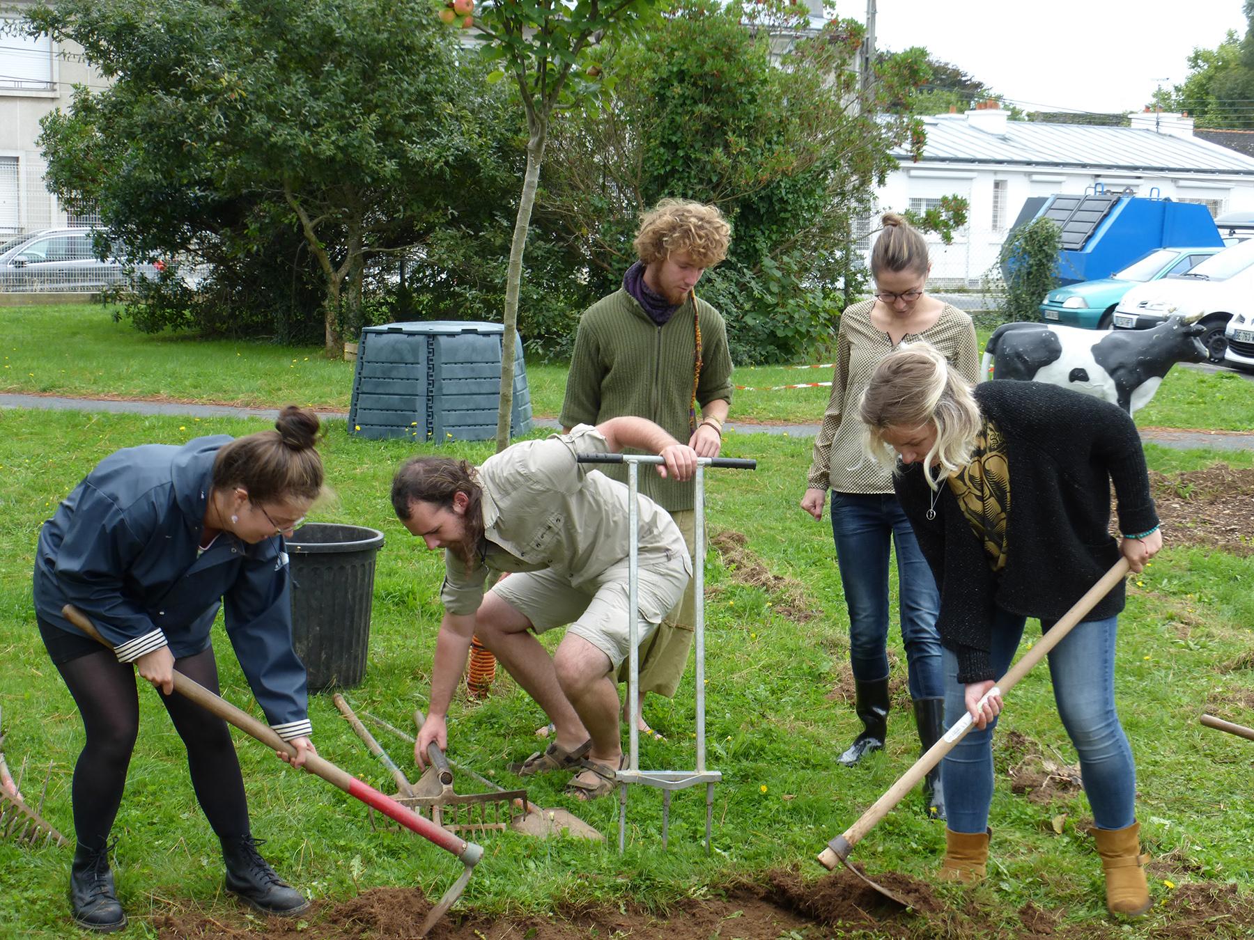 Habitants ou étudiants venez jardiner sur le campus Brest